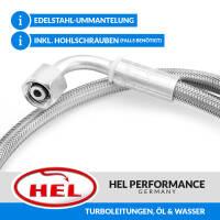 HEL Stahlflex Turboleitungen, Öl & Wasser, Nissan 200SX S13, CA18, 88-93