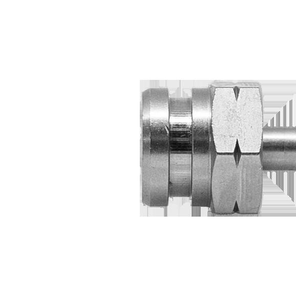 Drehbares Innengewinde mit NUT SW17 (Konvex/Konkav) M10 x 1.00 - Nr. 510