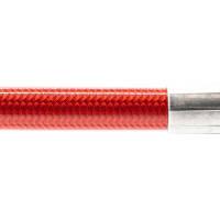 Stahlflex Bremsschlauch Transparent Rot