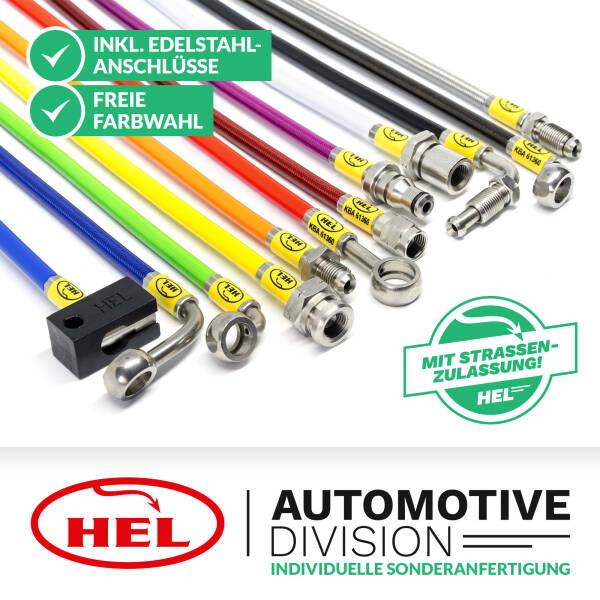 HEL Stahlflex Bremsleitung als individuelle Sonderanfertigung inkl. Gutachten