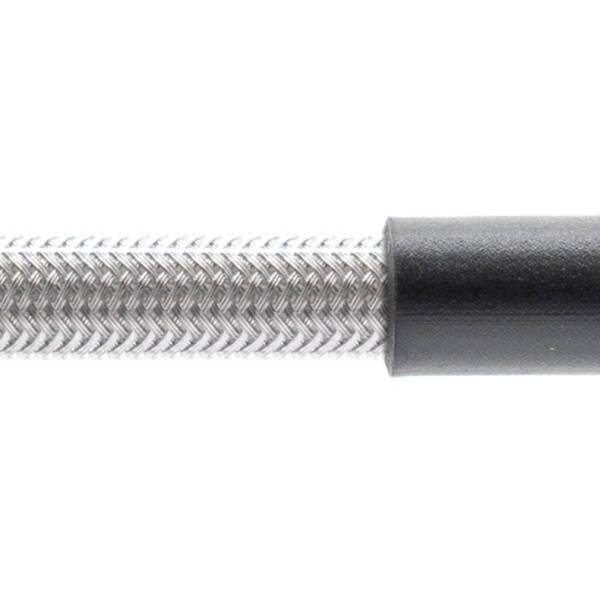 Stahlflex Bremsschlauch Transparent - mit Knickschutz
