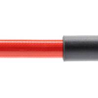 Stahlflex Bremsschlauch Rot - mit Knickschutz