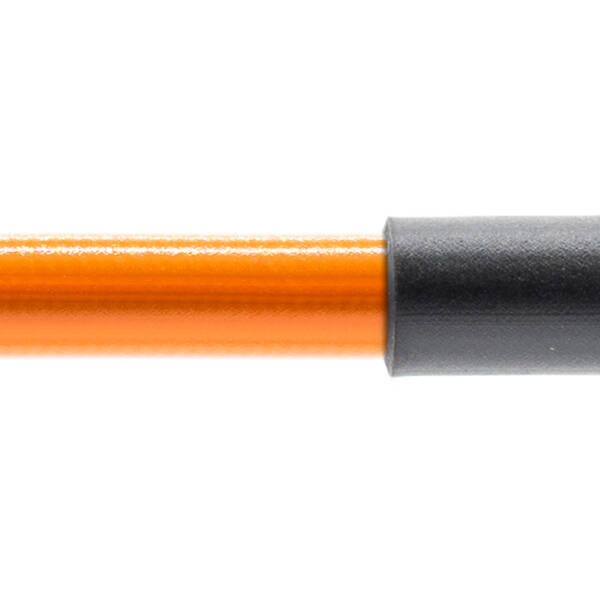 Stahlflex Bremsschlauch Orange - mit Knickschutz