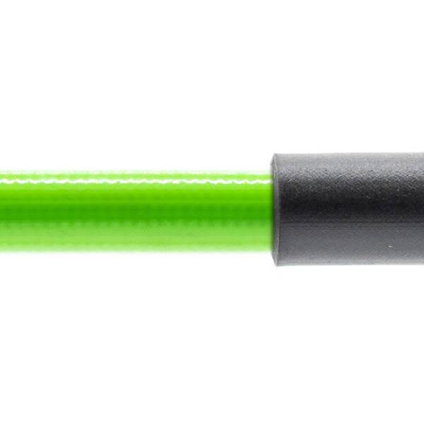 Stahlflex Bremsschlauch Grün - mit Knickschutz