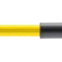 Stahlflex Bremsschlauch Gelb - mit Knickschutz
