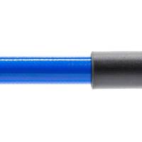 Stahlflex Bremsschlauch Blau - mit Knickschutz